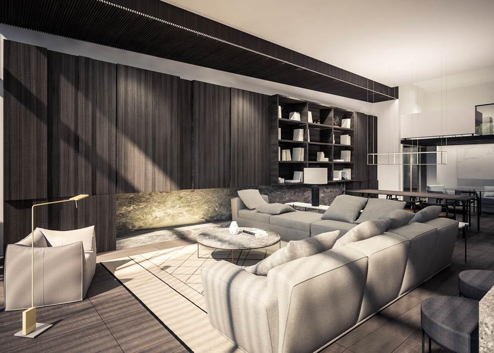 Interior vivienda - Infografia 3d - Egocrea