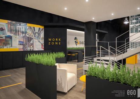Interiorismo Comercial Showroom Raloe