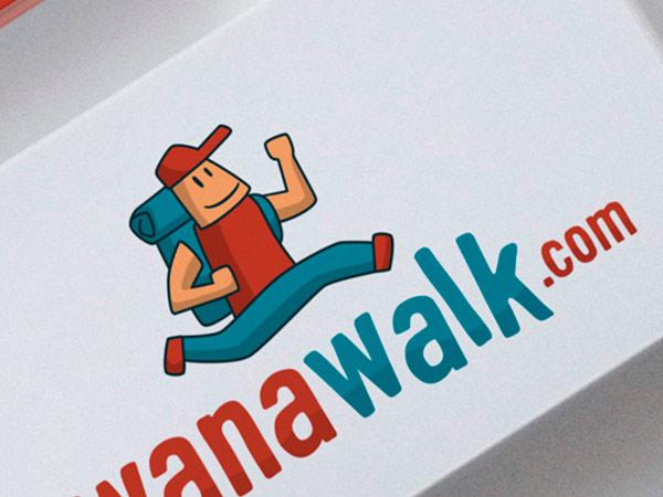 Diseño de logotipo y branding de Wanawalk