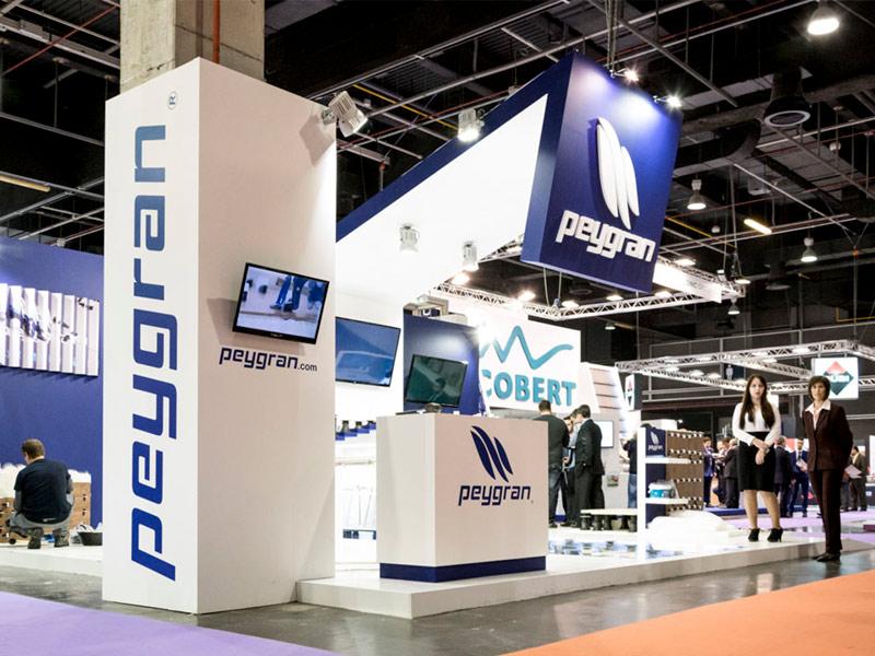 Diseño y montaje de stands · Peygran