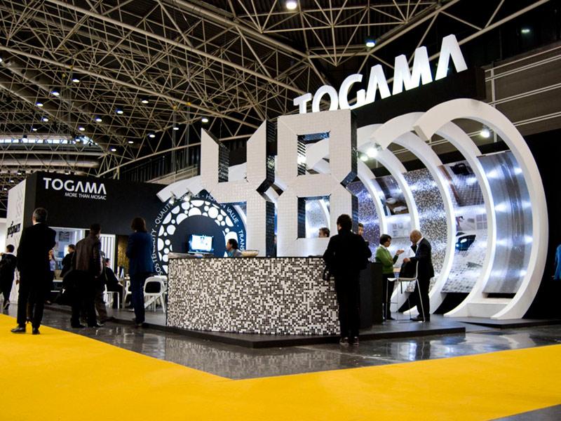 Diseño y montaje de stands · Togama